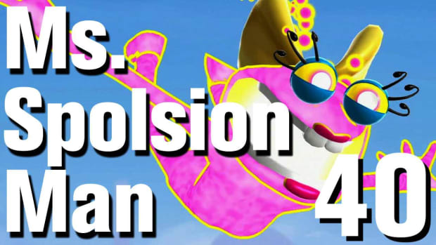 ZN. Ms. Splosion Man Walkthrough: Level 3-4 Promo Image