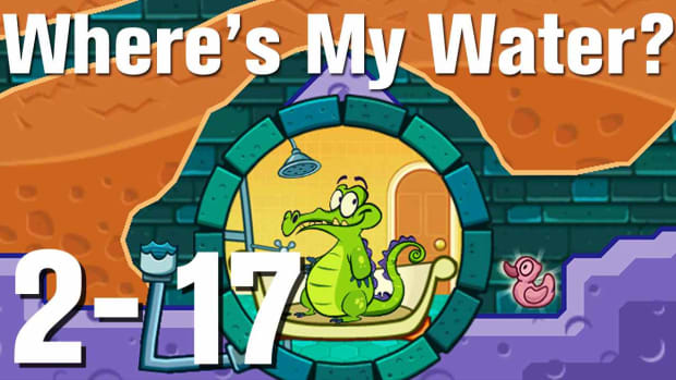 ZK. Where's My Water Walkthrough Level 2-17 Promo Image