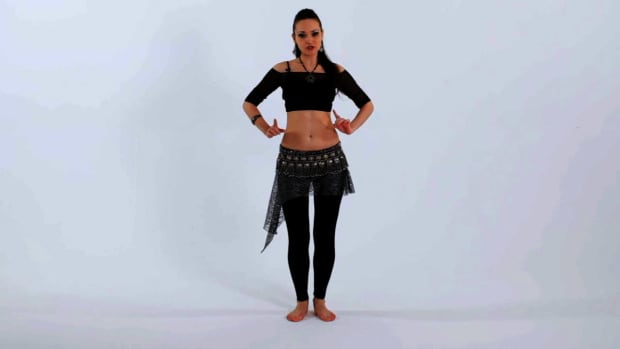 ZI. How to Do Double Hip Locks in Belly Dancing Promo Image