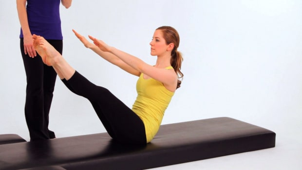 ZT. How to Do Intermediate Pilates Teaser 2 Promo Image