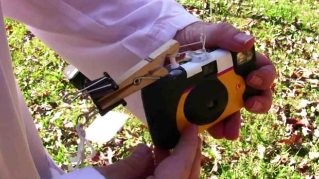 M. How to Make an Aerial Photography Rig with a Disposable Camera Promo Image