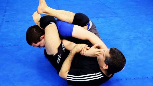 ZZE. How to Do an Arm Bar in MMA Fighting Promo Image