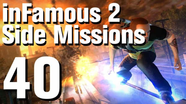 ZZZH. inFamous 2 Walkthrough Side Missions Part 40: Assassin's Greed Promo Image