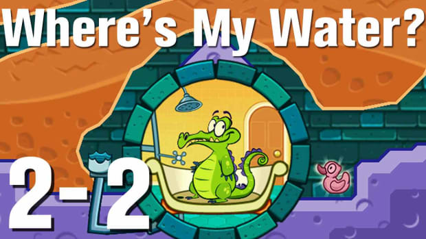 V. Where's My Water Walkthrough Level 2-2 Promo Image