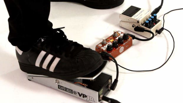 M. What's the Pedal Order When Using Delay with a Volume Pedal? Promo Image