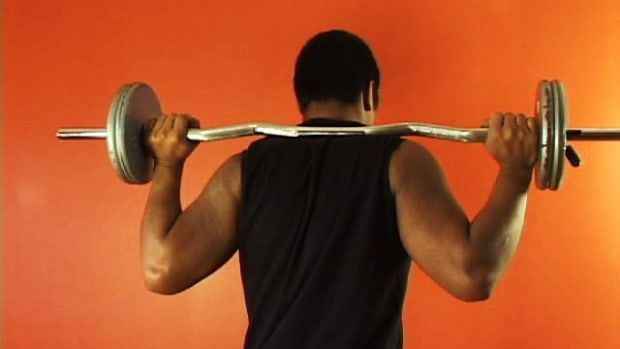I. How to Do Barbell Side Bends Promo Image