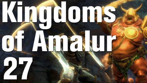 ZA. Kingdoms of Amalur: Reckoning Walkthrough Part 27 - Mel Senshir Promo Image