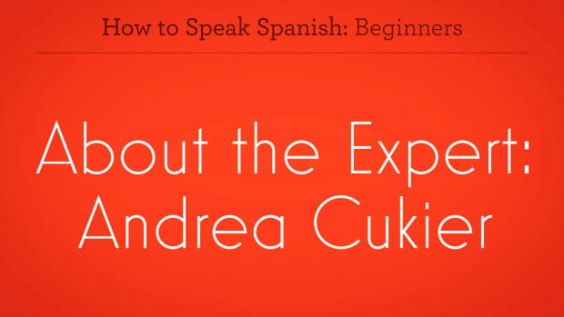 ZZZI. How to Learn Spanish with Andrea Cukier Promo Image