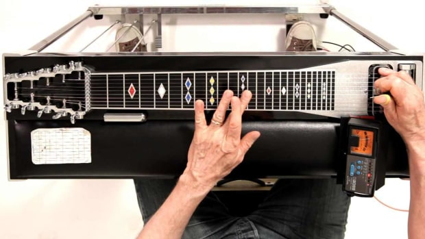 Q. How to Tune to E9 Chromatic on a Pedal Steel Guitar Promo Image