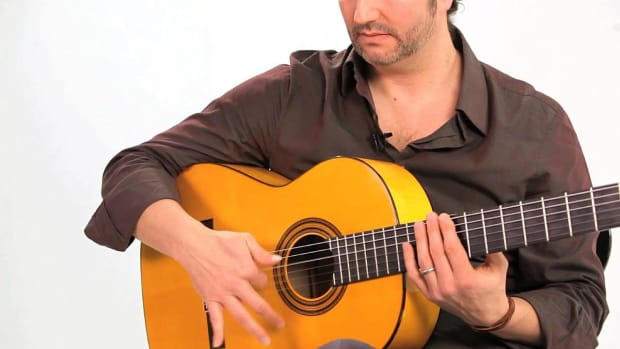 L. Flamenco Guitar Techniques: How to Play Fan Rasgueos Tresillos Promo Image