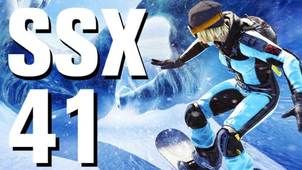 ZO. SSX Walkthrough Part 41 - Mornin' Tiger - Ty - New Zealand Promo Image