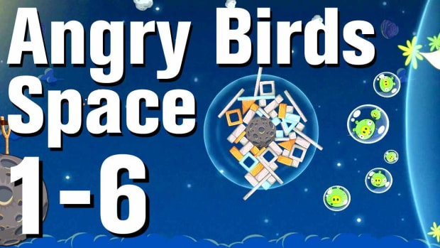 F. Angry Birds: Space Walkthrough Level 1-6 Promo Image