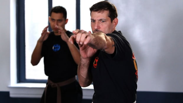 G. How to Do a Krav Maga Single Finger Strike Promo Image