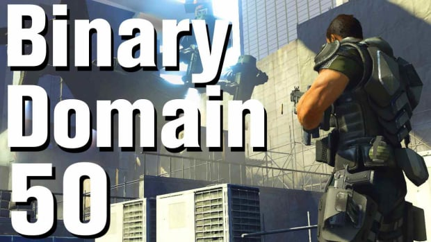 ZX. Binary Domain Walkthrough Part 50 - Amada Chapel Promo Image