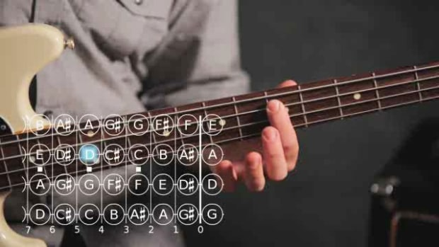 Q. Basic Note Patterns on the Bass Guitar Promo Image
