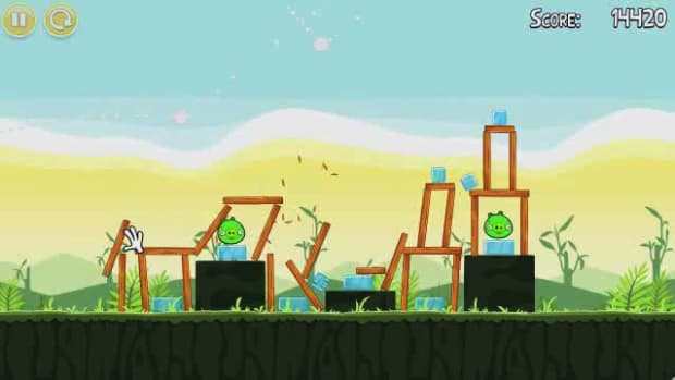 Q. Angry Birds Level 2-17 Walkthrough Promo Image
