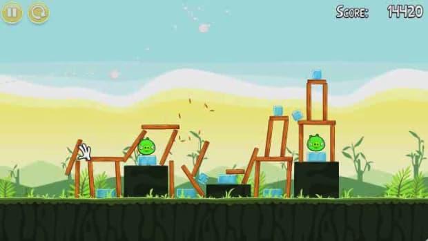 Q. Angry Birds Level 2-17 Walkthrough Promo Image