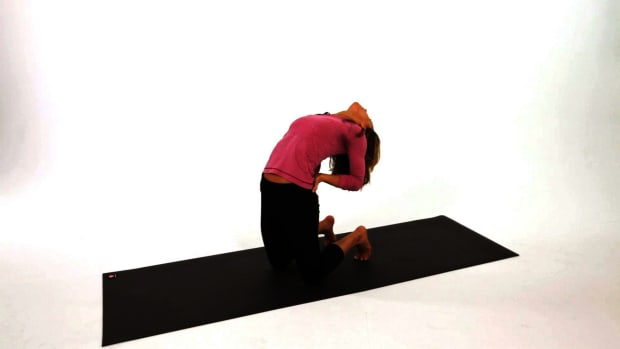 F. How to Do a Camel Pose for Energy (Ustrasana) in Yoga Promo Image