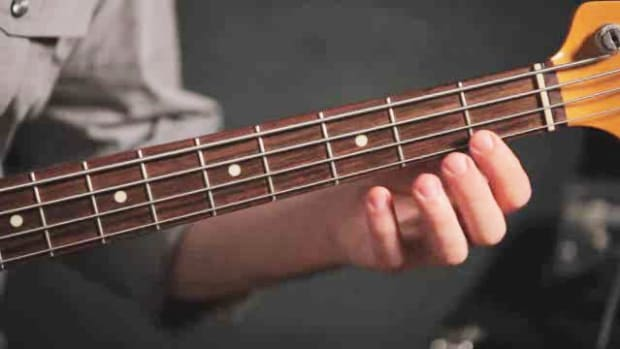 O. Basic Fretting Technique for the Bass Guitar Promo Image