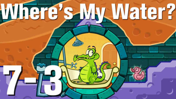 ZZZZS. Where's My Water Walkthrough Level 7-3 Promo Image