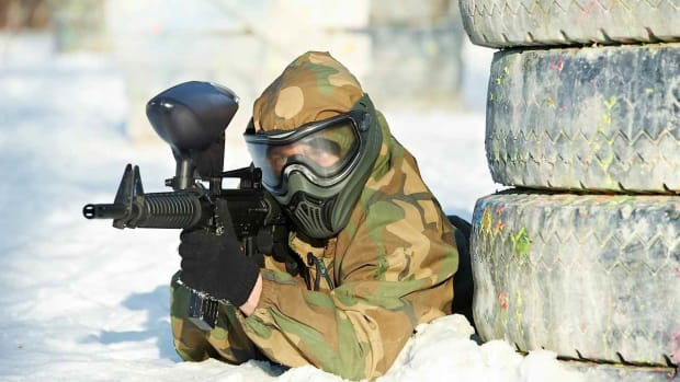 G. How to Be a Paintball Sniper Promo Image