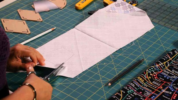 D. How to Use a Quilting Template Promo Image