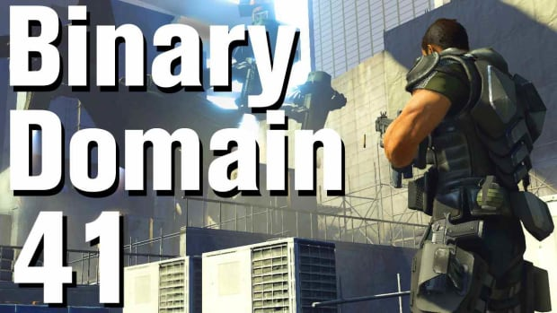 ZO. Binary Domain Walkthrough Part 41 - Bio Break Promo Image