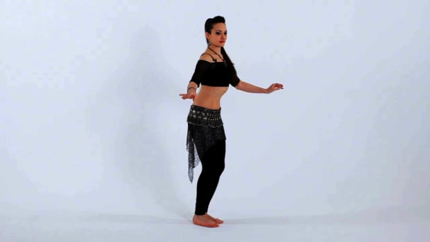 ZJ. How to Do Front-to-Back Chest Slides in Belly Dancing Promo Image