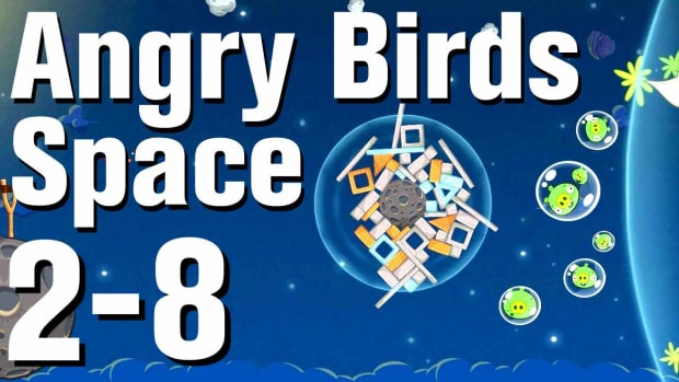 ZL. Angry Birds: Space Walkthrough Level 2-8 Promo Image