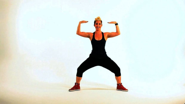 M. How to Do a Tutting Squat Dance Move Promo Image