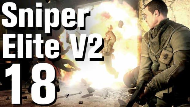 R. Sniper Elite V2 Walkthrough Part 18 - Opernplatz Promo Image