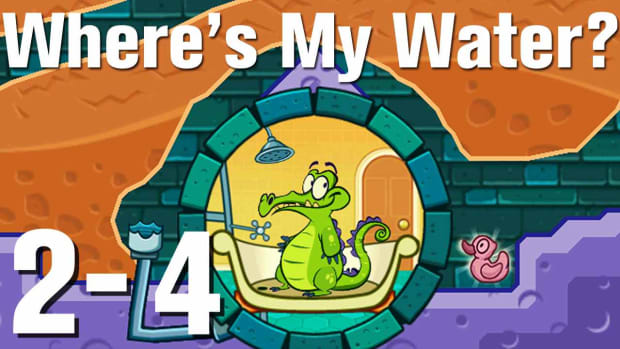 X. Where's My Water Walkthrough Level 2-4 Promo Image