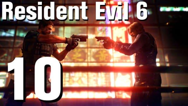 J. Resident Evil 6 Walkthrough Part 10 - Chapter 1 Promo Image