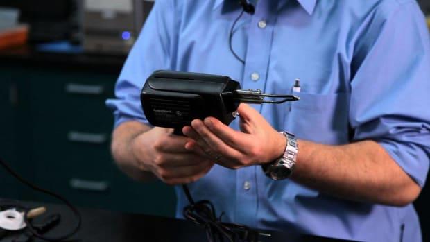 ZE. Soldering Iron vs. Soldering Gun Promo Image