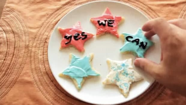 J. How to Decorate Cookies for an Election Celebration Party Promo Image