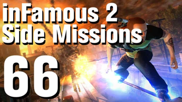 ZZZZF. inFamous 2 Walkthrough Side Missions Part 66: Biohazard Promo Image