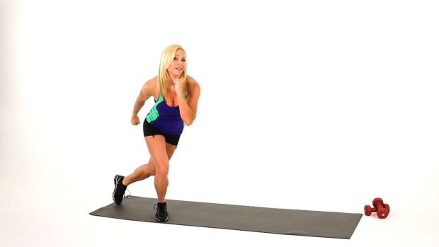 P. How to Do a Skater for a Sexy Legs Workout Promo Image