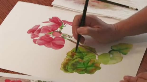 C. How to Learn Flower Painting Techniques Promo Image