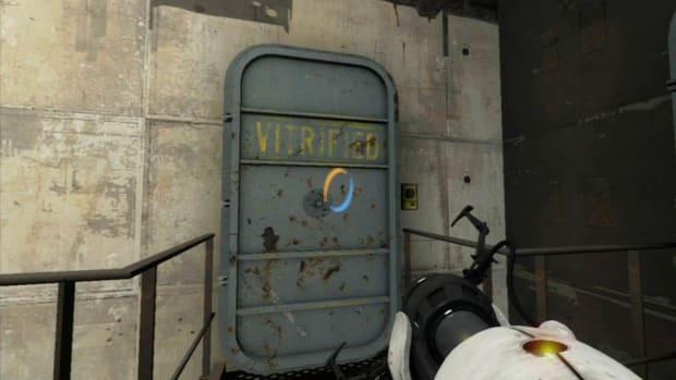 ZZZZA. Portal 2 Secrets / Chapter 6 - Aperture 1950s - Vitrified Doors 1-3 Promo Image