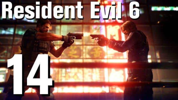 N. Resident Evil 6 Walkthrough Part 14 - Chapter 2 Promo Image