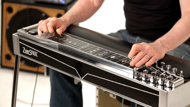 ZE. How to Play Minor Chords on a Pedal Steel Guitar Promo Image