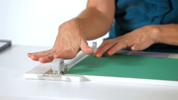 G. How to Use a Paper Trimmer for Scrapbooking Promo Image