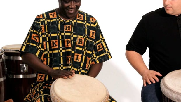 D. How to Play an Open Tone Sound on Djembe Promo Image