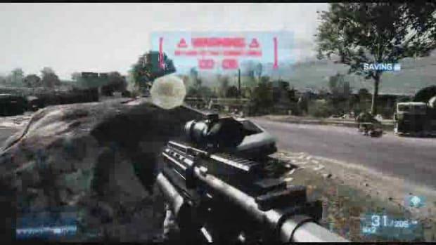 Z. Battlefield 3 Walkthrough Part 26 - Rock and a Hard Place Promo Image