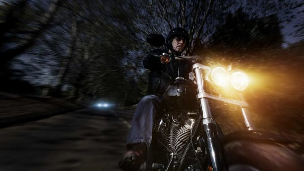 V. Tips for Riding a Motorcycle at Night Promo Image