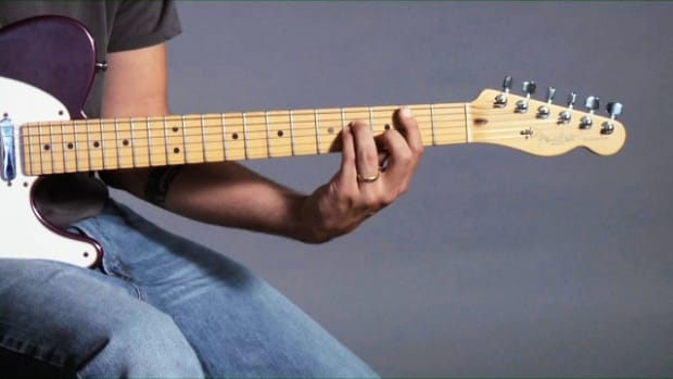 ZZZP. How to Play a B Minor Barre Chord on Guitar Promo Image