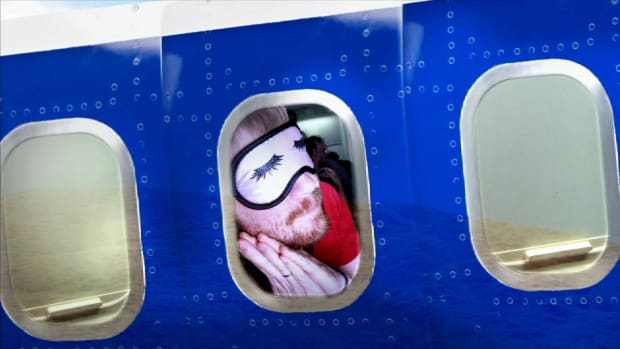 M. How to Actually Get Some Sleep on a Plane Promo Image
