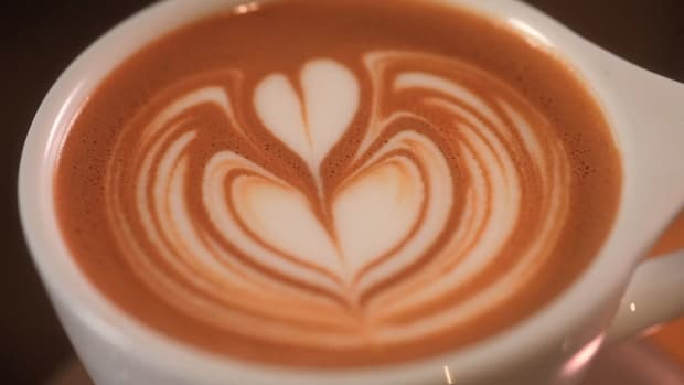 M. How to Pour an Advanced Latte Art Tulip Promo Image