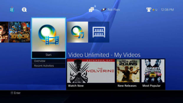 Z. Entertainment Services Offered on PlayStation 4 Promo Image
