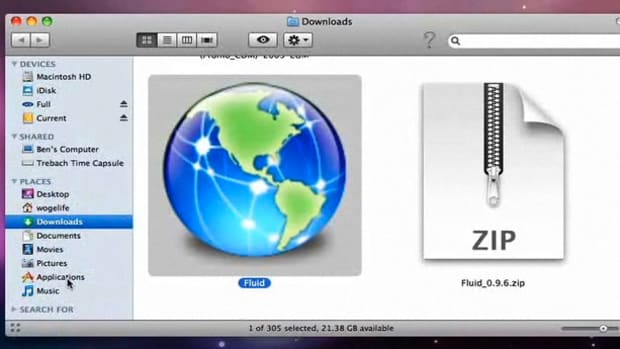 ZF. How to Turn Web Applications into Real Applications on a Mac Promo Image
